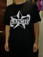 送料無料☆RANCIDロックスターTシャツ☆L(USAサイズ)