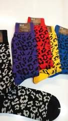 新品◆靴下�D足set◆すべてヒョウ柄◆バラ売り不可★No.5★