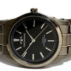 極レア TECHNOS/テクノス【オールチタン】メンズ腕時計