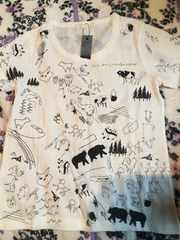 JEANASIS動物などイラストTシャツ