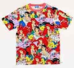ディズニーリゾート☆アリエルTシャツ140