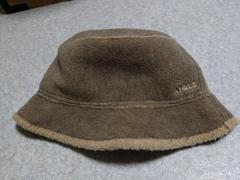 美品♪AIGLE☆フリース帽子《ベージュ》