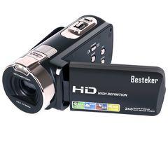 ポータブルビデオカメラ 2400万画素