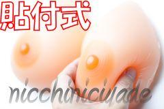 【一体感絶大】密着感満足■シリコンバスト600g人工乳房豊胸