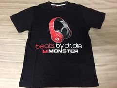 beats.by dr,Dre Tシャツ S MONSTER 送料込!!!