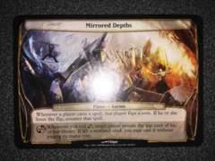 ●MTG プレインチェイス 大判カード Mirrored Depths 英語 1枚●