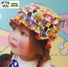 新品同様【GRANDGROUNDDREAMU-グラグラ】パンダベビーキャップ帽子F男女