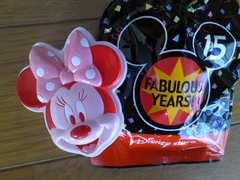 Disney 非売品 ミニーマウス /ケース&シール セット