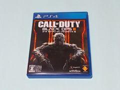 PS4ソフト CALL OF DUTY BLACK OPSIII コールオブデューティ ブラックオプス3