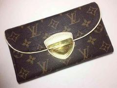 Louis Vuitton モノグラム コアラ 三つ折り 長財布