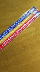 SNOOPY スヌーピー USJ ユニバーサル・スタジオ 公認 鉛筆 3本組 限定 非売品