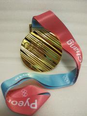 平昌オリンピック金メダル レプリカ 2018年 冬季オリンピック