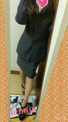 シンプル☆ストライプOL 系スーツset