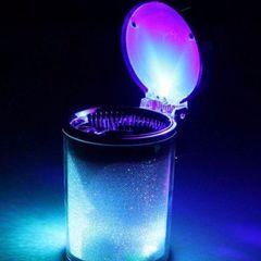 【新品】 LED 灰皿 アッシュトレイ ☆ 綺麗なイルミネーション