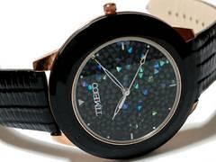 極美品 TIME100【1点もの】煌く美しい大型 メンズ腕時計