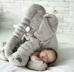 大人気! ゾウさん ふかふかクッション 抱き枕 ベビー キッズ