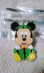 ディズニーTDL/Mickeyミッキーピンズ/スイカ/非売品ピンバッチ