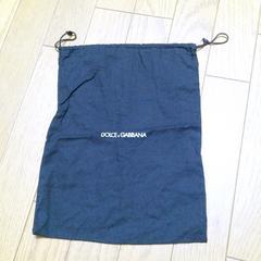 正規品ドルガバ 保存袋 25×33