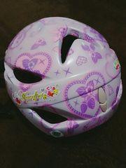 小学生女の子ヘルメット★52〜56センチ★ジュエルペット柄