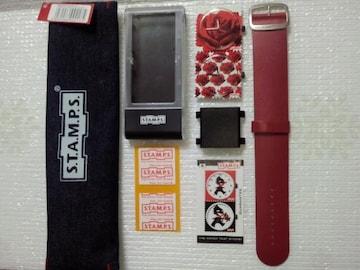 S.T.A.M.P.S. スタンプス 切手の様な時計セット Rosenfeld 薔薇 バラ