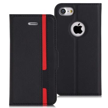 iPhone8 ケース iPhone7ケース 横置きスタンド機能付き