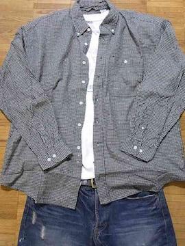 即決USA古着鮮やかチェックデザインネルシャツ!ビンテージ