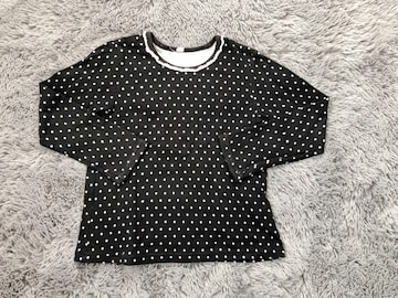 美品★ドット柄 半袖Tシャツ120
