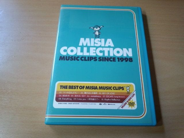 MISIA DVD「MISIA COLLECTION MUSIC F」PV集 Everything収録●  < タレントグッズの