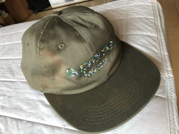 supreme camp cap カーキ