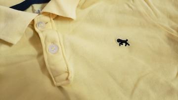 ★H&M★黄色ポロシャツ★サイズEUR122/128★一回着用のみ★