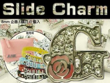 Gスライドチャームパーツバラ1個 首輪やコインケースに Adc9033