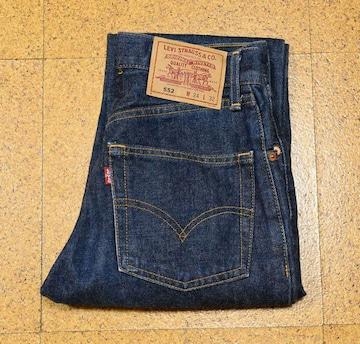 濃紺 W24 1998年7月 日本製 ビンテージ リーバイス552-0301