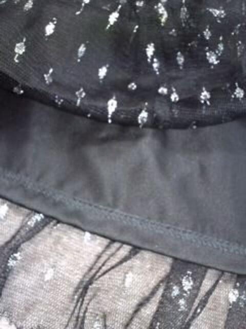 ☆インデックスafterallシルバードット黒ペチコートスカート新品 < ブランドの