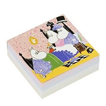 【ムーミン】可愛い日本製♪ブロックメモ4柄280枚