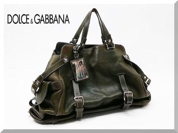 DOLCE&GABBANA ☆ドルチェ&ガッバーナ レザートートバッグ