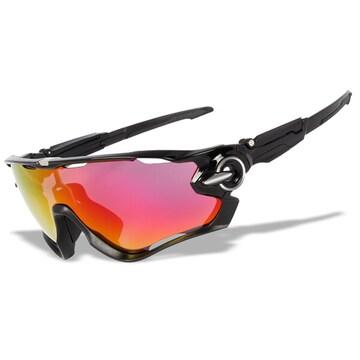 調光偏光レンズ3枚 ポリッシュ オリジナル スポーツサングラス