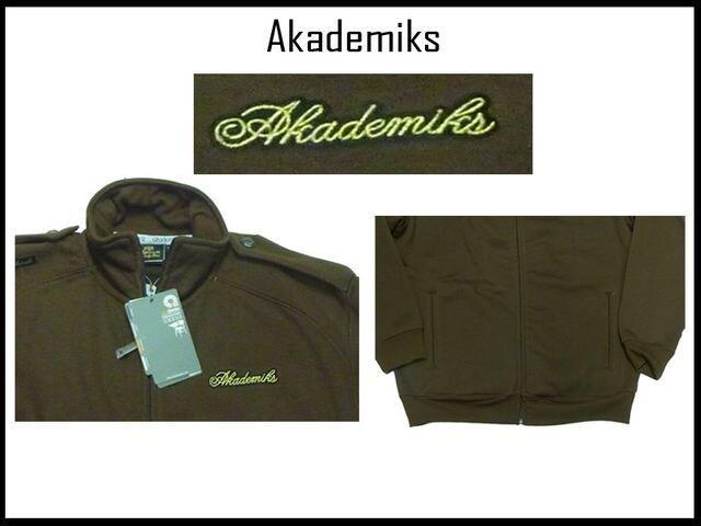 新品ビッグサイズ アカテミックスAKADEMIKS NYCストリートスタイルミリタリジップジャケット < ブランドの