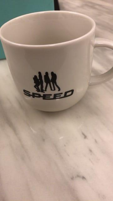 ★スピード★SPEED★マグカップ★未使用 < タレントグッズの
