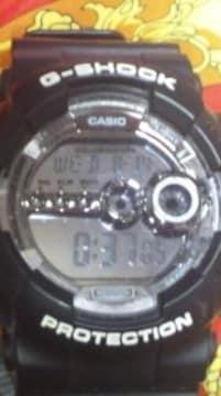 CASIOGショック限定ミラーダイヤルBIG CASE腕時計GD-100BWビックケース