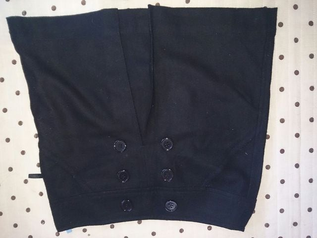 CIAO PANIC 黒 秋冬物 ミニスカート 美品 < ブランドの