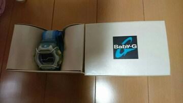 Baby-G新品タグ付き電池切れ+1080円で電池入れ替え時計店で購入
