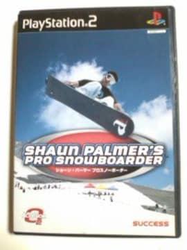 (PS2)ショーンパーマー・プロスノーボーダー☆即決価格♪