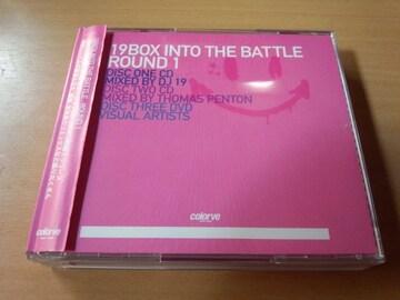 CD「19BOX INTO THE BATTLE ROUND 1」ダンステクノ●