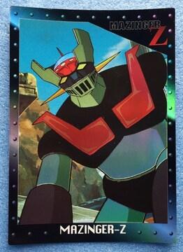 マジンガーZ レインボー ホロカード レア トレカ カード