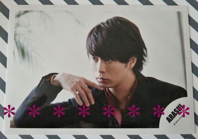 公式写真◆櫻井翔*2013 LOVE*オフショット★  < タレントグッズの