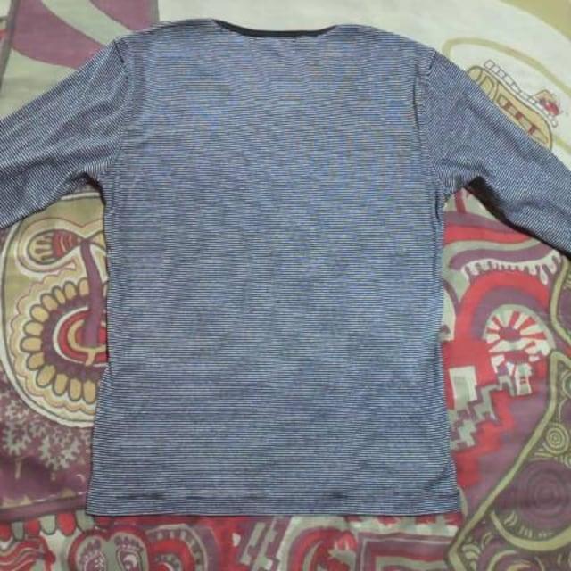 HIDEAWAYS(NICOLE)/ハイダウェイボーダー七分Tシャツ < ブランドの
