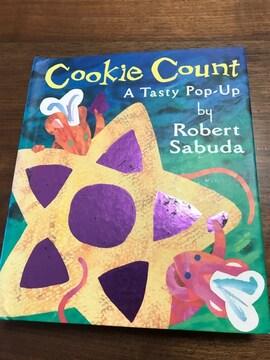 ポップアップしかけ絵本 Cookie Count  飛び出す絵本 英語
