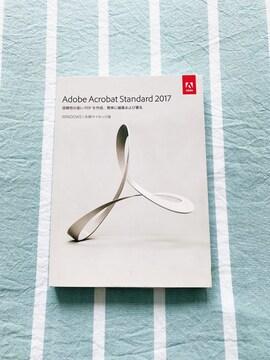 Adobe Acrobat Standard 2017 WIN版 中古品