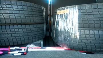 ヨコハマタイヤアイスガードiG30スタッドレスタイヤ4本セット中古165/70r14インチ12年製