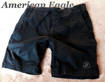 【アメリカンイーグル】Flex ショートパンツ W94cm/Black